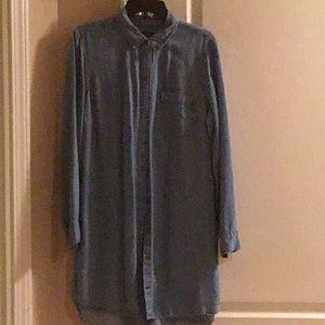 Abercrombie and Fitch Denim Dress Xl